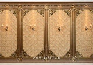 Стеновые панели из дерева INT-028-1