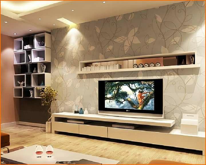 Tv Unit Decoration Ideas: 64 Best TV Wall Units Images On Pinterest