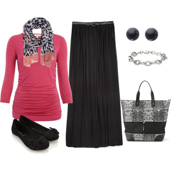 """black skirt outfit"" by dixiegirl-dixie on Polyvore"