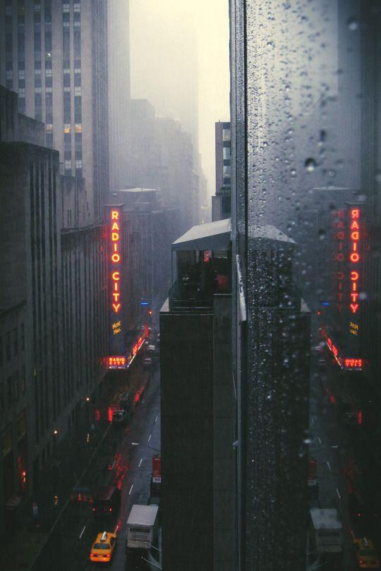 Winter Arrives in Manhattan.