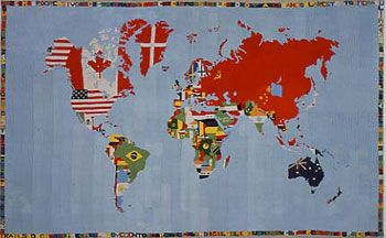 Alighiero Boetti at the MoMA, review by Valerie Jack - New York Monthly @NewYorkMonthly