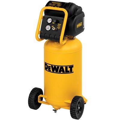 DEWALT D55168 1.6 HP 15-gal 200 PSI Portable Electric Air Compressor