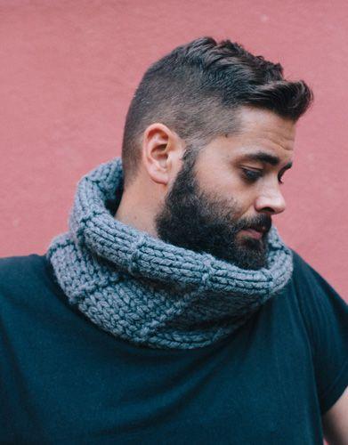 Revista extra 1 Otoño / Invierno | 109: Hombre Cuello | Gris
