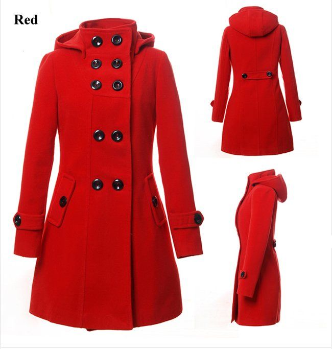9 best Red Trench Coats For Women images on Pinterest | Trench ...