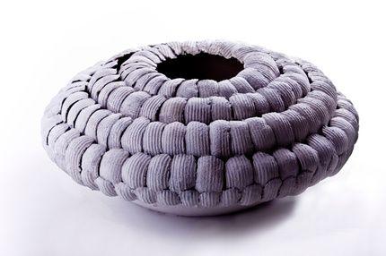 Ellen Ehk Brim bowl, white