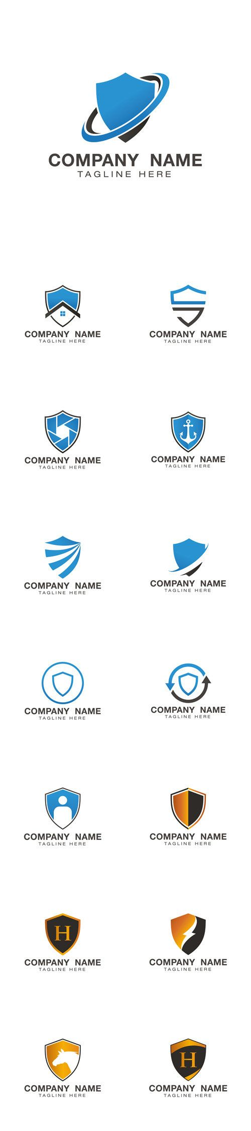 Vectors - Shield Logo Design