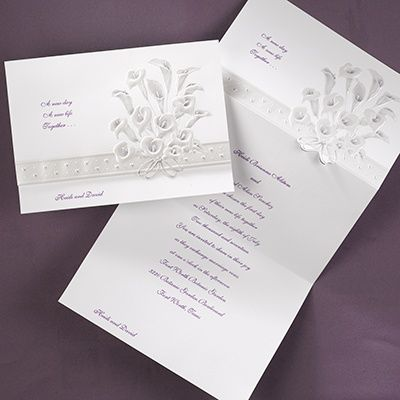 32 Best Calla Lily Inspired Wedding Invitations Images On Pinterest | Calla  Lily, Calla Lily Wedding And White Weddings