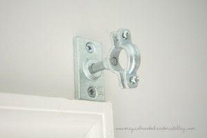 DIY Curtain Rod: Plumbing Fixtures - Megan Brooke Handmade