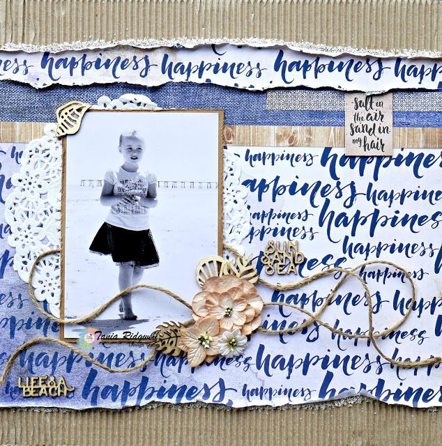 Tania's Creative Space: Shop and Crop Scrapbooking January DT Share