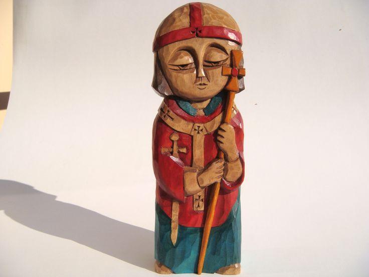 St. THOMAS BECKET Patron Saint of England, patron saint of England clergy by KAPELA on Etsy https://www.etsy.com/listing/511585003/st-thomas-becket-patron-saint-of-england