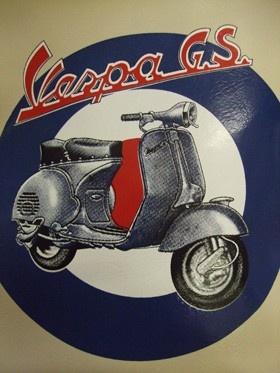 Vespa G.S Scooter