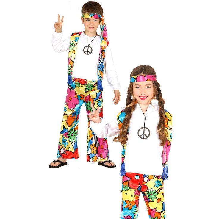 Disfraz Hippie Infantil - Comprar Online {Miles de Fiestas}