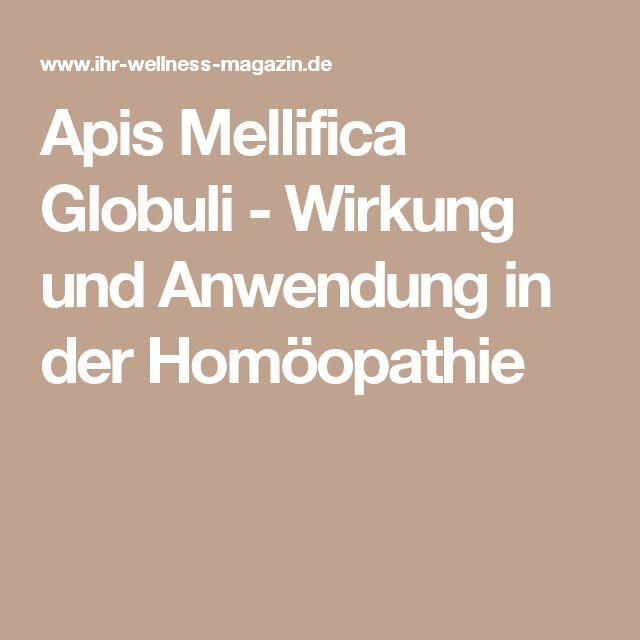 Apis Mellifica Globuli - Wirkung und Anwendung in der Homöopathie