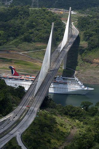 Puente Centenario, Panama Canal.   http://www.lonelyplanet.com/argentina/buenos-aires/puente-centenario