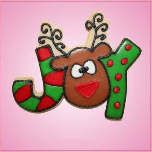 Pink Reindeer Joy Cookie Cutter                                                                                                                                                                                 More
