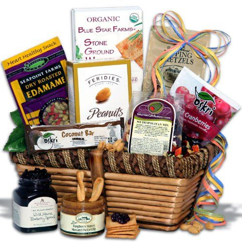 Healthy Gift Basket - Classic - http://goodvibeorganics.com/healthy-gift-basket-classic/
