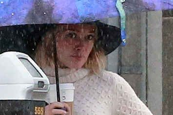 Hilary Duff Was Spotted Coming Clean In El Niño