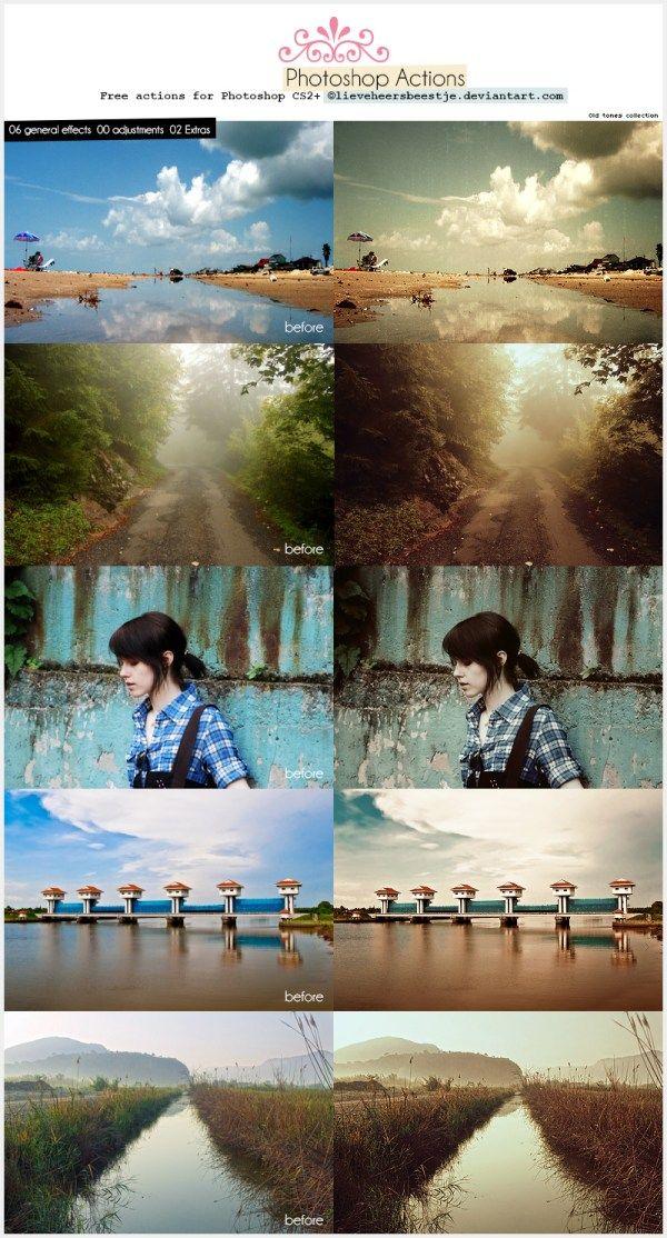 45 Amazing and Free Photoshop Actions | Vandelay Design Blog