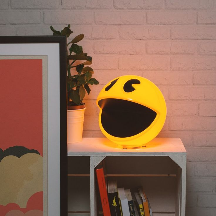 You need this Pac-Man Lamp. A few things you may or may not know about Pac-Man, which will help you agree. Within 15 months of its U.S. release, NamcoBandai