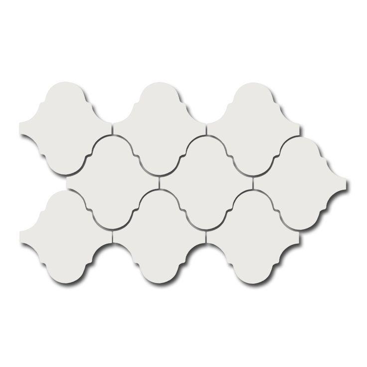 Scale Alhambra Mosaic White 27,0x43,0/Dekoracja/GAT 1