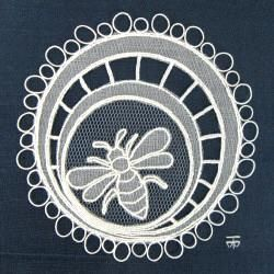 Carrickmacross Lace: Irish Traditional Hand Embroidery Technique Using Surface Embroidery Stitches on Cotton Organdie and Net (Tulle)