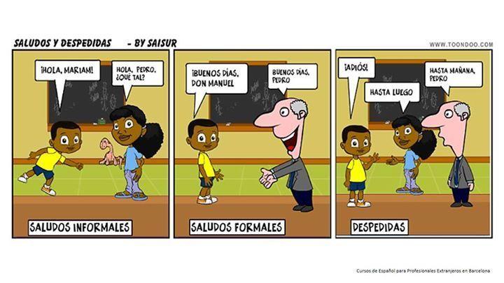 Comic Saludos Y Despedidas Saferbrowser Yahoo Image Search Results Saludos En Español Segunda Lengua Saludos