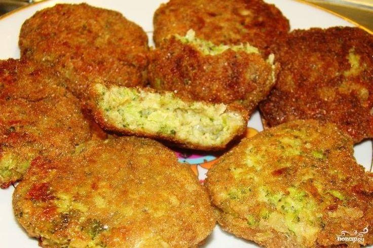 Котлеты из брокколи - кулинарный рецепт с фото на Повар.ру