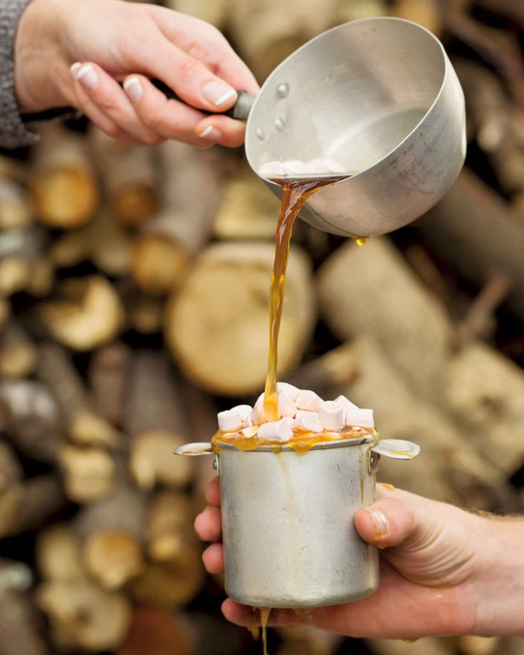 Cowboy coffee with marshmallows - MyKitchen