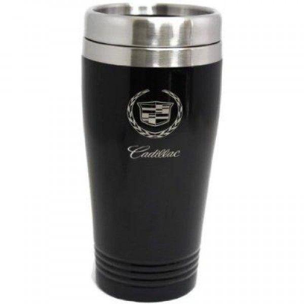 Cadillac Travel Mug Travel Coffee Mug Cup Stainless Steel