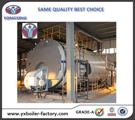 8000kg/hr Fuel Gas Steam Boiler Used for Food Processing Industry