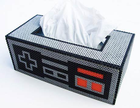 Boîte à mouchoir Nintendo - Créateur : Lost_mitten sur Flickr