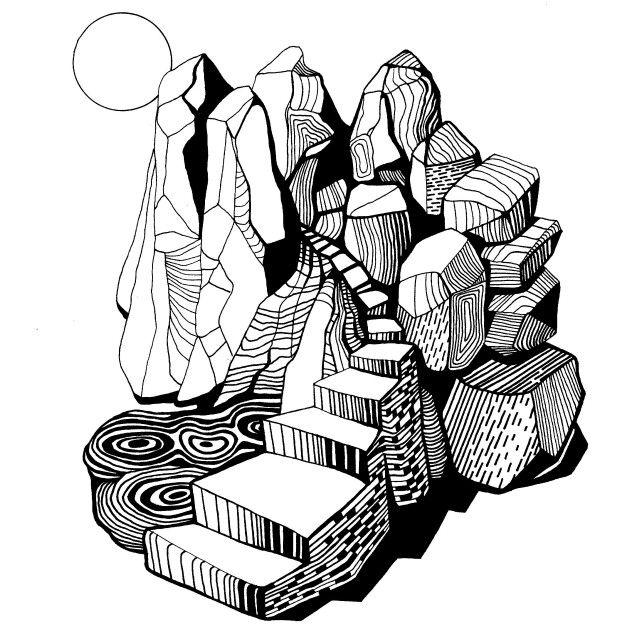 """Firma Fabrik graphic design for Signe Svendsens album """"rift"""", 2016"""