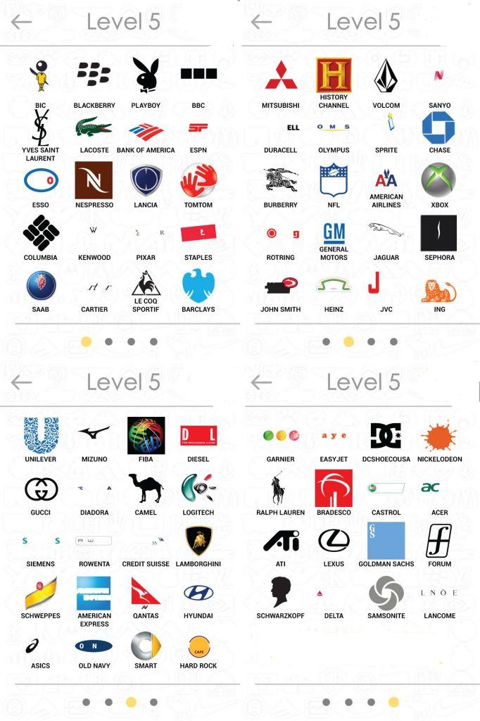 Logos Quiz Answers Level 5 Daily Trendzz Logos Pinterest