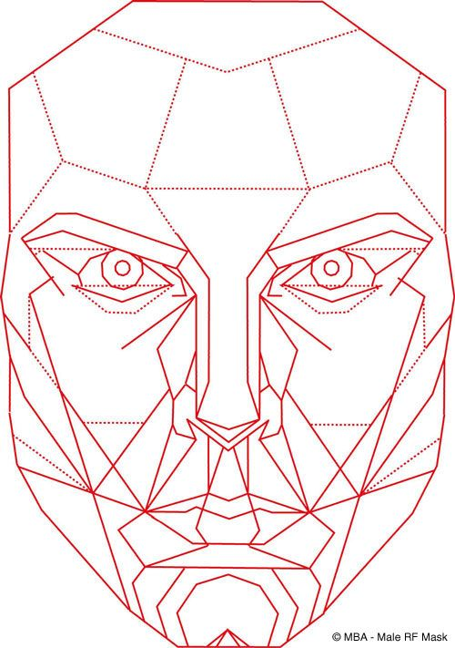 Best ideas about geometric face on pinterest