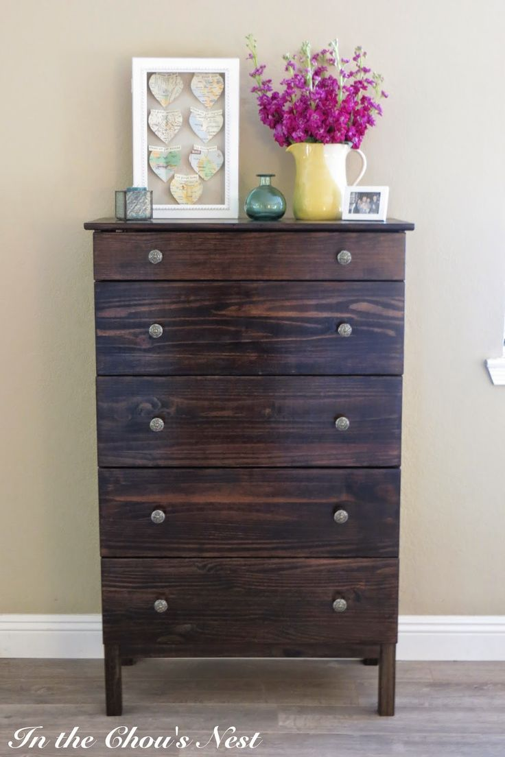 Best 25 dark walnut stain ideas on pinterest minwax for Ikea tarva hack de lit