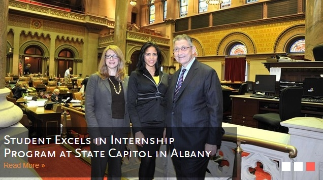 STUDENT SHINES IN ALBANY AS STATE ASSEMBLY INTERN http://www.payscale.com/research/US/School=Manhattan_College/Salary