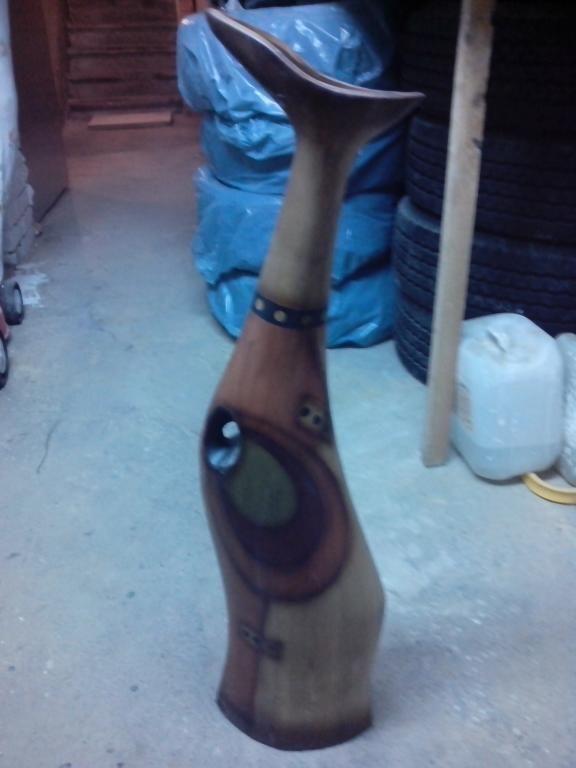 tykwa z drewna afrykańskiego