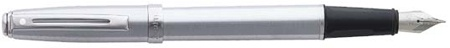 Sheaffer Prelude Brushed Chrome /Nickel Trim Fountain Pen
