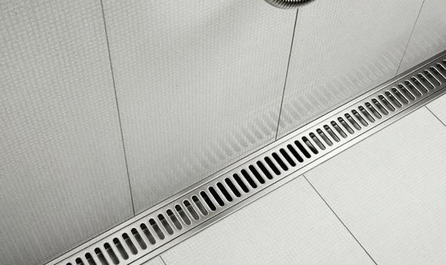 Bygg din unidrain® - Anpassade avlopp för stora badrum