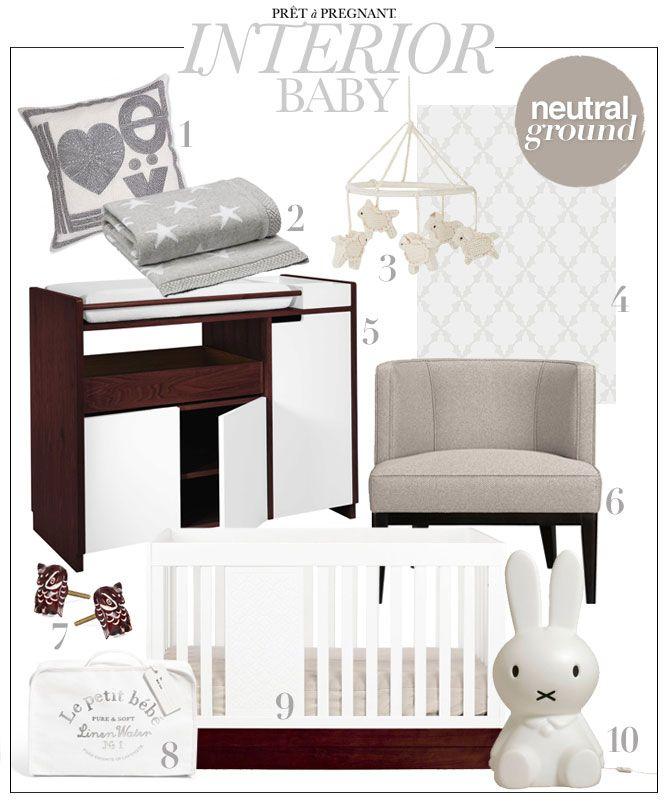 Nursery Inspiration - Neutral Baby Interior Boys & Girls