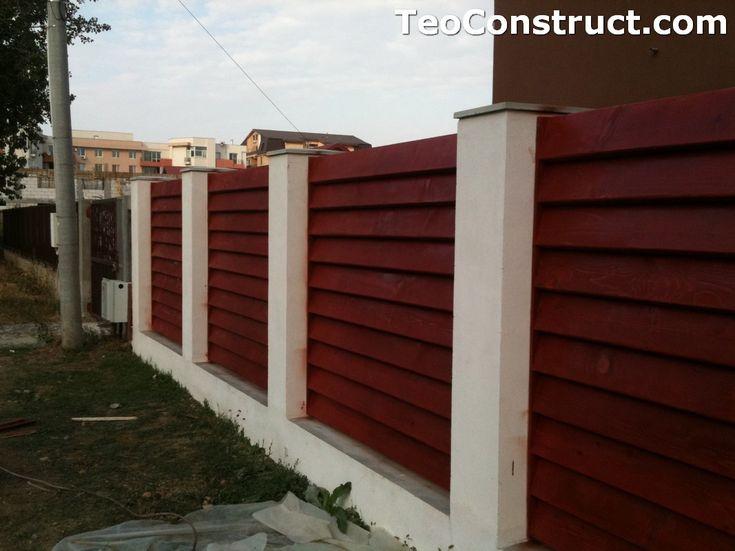 Garduri din lemn modele Pitesti 4