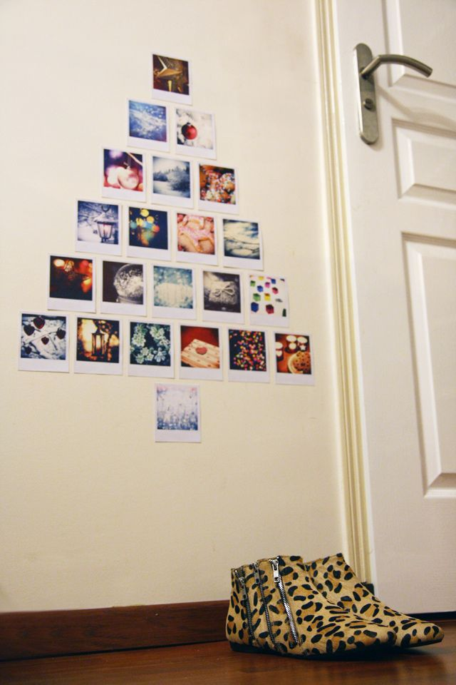 great idea, especially for all those polaroid pictures.