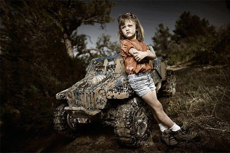 Girls and their Jeeps/ this will be my kid!
