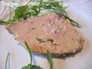 foie gras four vapeur