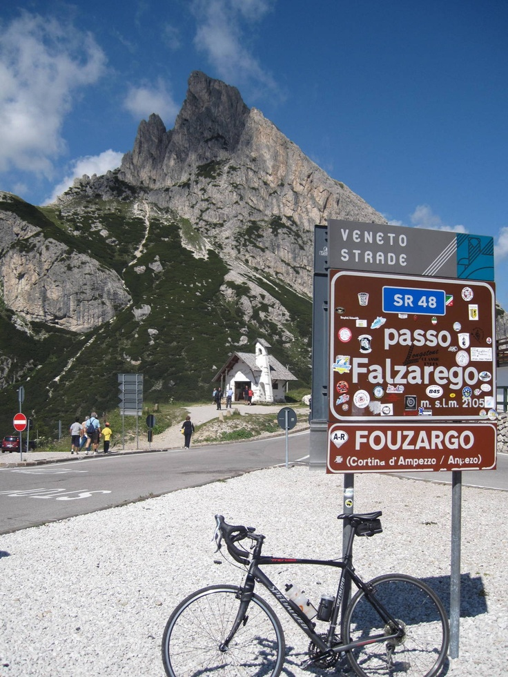 Passo Falzarego (mt. 2105) and Sass de Stria