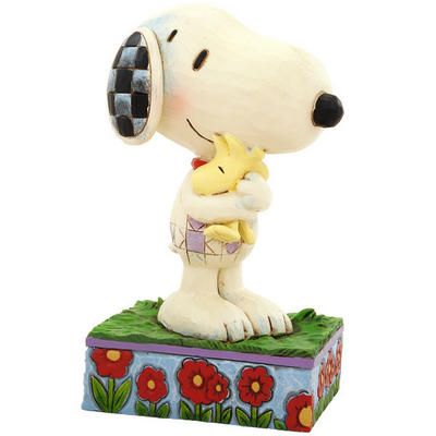 Snoopy And Woodstock Peanuts Jim Shore Figure