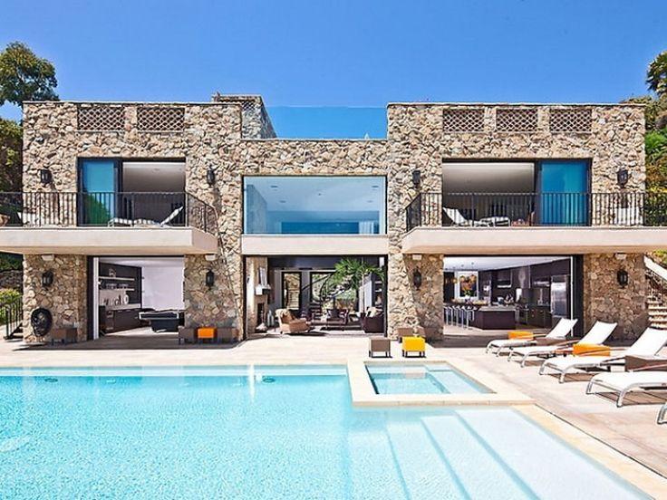 Contemporary Castle-Like House