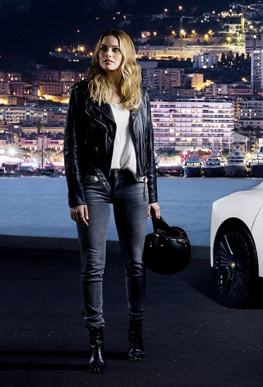 """margotrobbies: """"Margot Robbie as the new face of Nissan electric cars (2017) """""""