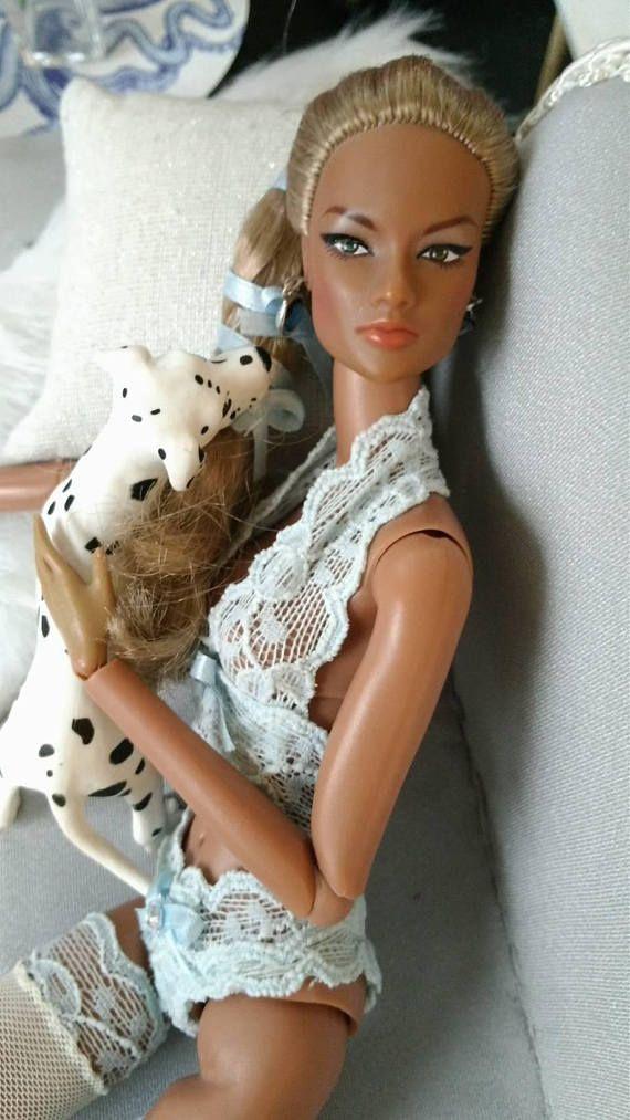 12 inch fashion doll lingerie set