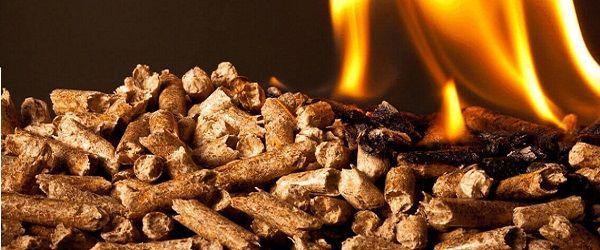 spalanie biomasy peletu